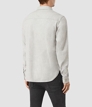 Hombre Sereno Ls Shirt (Smoke Grey) - product_image_alt_text_3