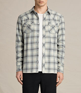 Mens Mohave Shirt (Grey)
