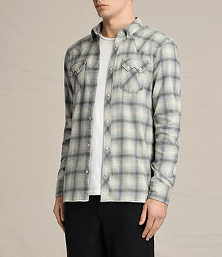 Men's Mohave Shirt (Grey) - product_image_alt_text_3