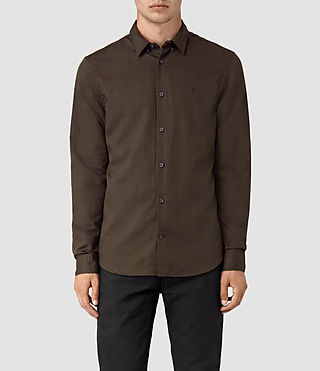 Hombres Hermosa Shirt (Umber) -