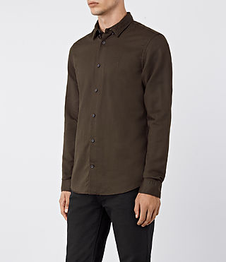 Men's Hermosa Shirt (Umber) - product_image_alt_text_2