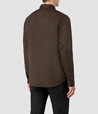 Men's Hermosa Shirt (Umber) - product_image_alt_text_3