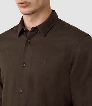 Men's Hermosa Shirt (Umber) - product_image_alt_text_4