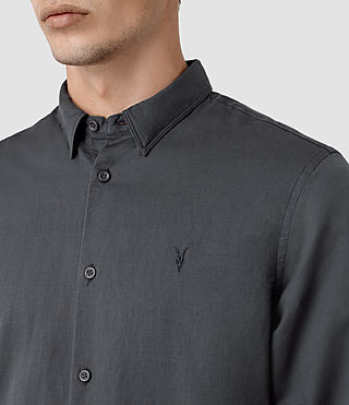 Men's Hermosa Shirt (Workers Blue) - product_image_alt_text_2