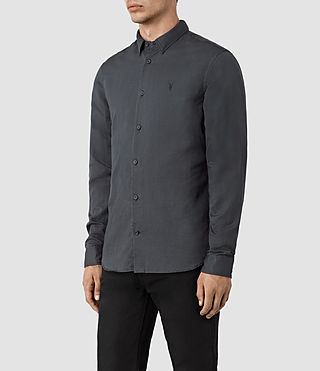 Men's Hermosa Shirt (Workers Blue) - product_image_alt_text_3