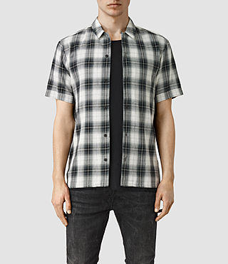 Mens Abbeville Short Sleeve Shirt (Grey)