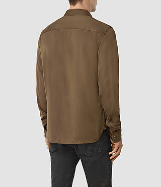 Uomo Bounty Ls Shirt (Mushroom) - product_image_alt_text_3