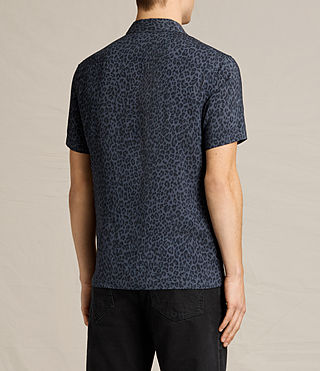 Hombre Reserve Short Sleeve Shirt (Washed Black) - product_image_alt_text_3