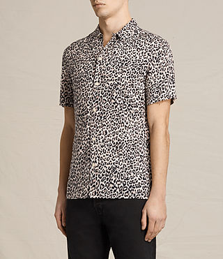 Men's Reserve Short Sleeve Shirt (SAND BROWN) - product_image_alt_text_3