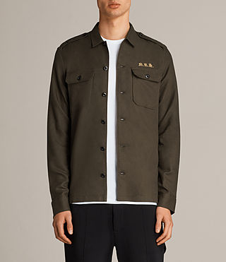 Men's Covina Shirt (Khaki) - Image 1