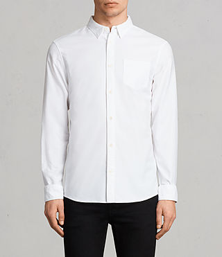 Mens Stukeley Shirt (White)