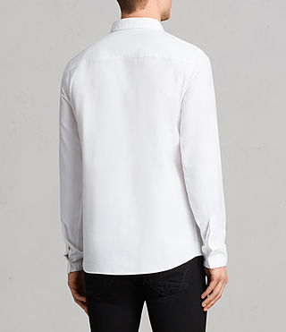 Men's Stukeley Shirt (White) - product_image_alt_text_3