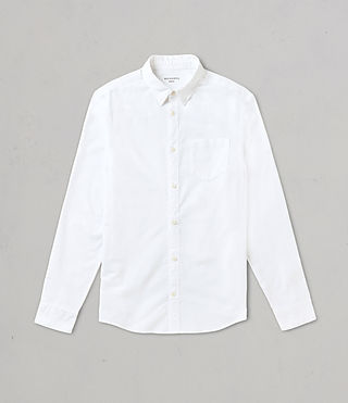 Men's Stukeley Shirt (White) - product_image_alt_text_4