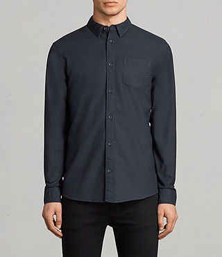 Mens Stukeley Shirt (INK NAVY) - Image 1
