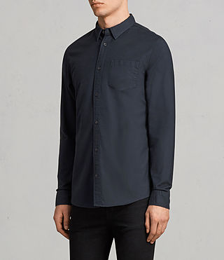 Mens Stukeley Shirt (INK NAVY) - Image 2