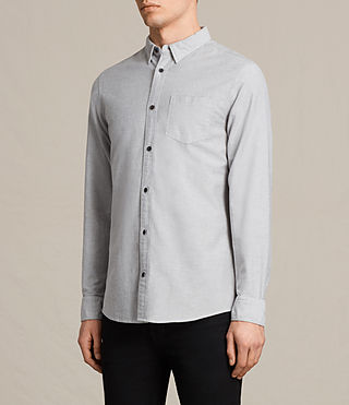 Men's Stukeley Shirt (Grey) - product_image_alt_text_2