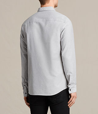 Men's Stukeley Shirt (Grey) - product_image_alt_text_3