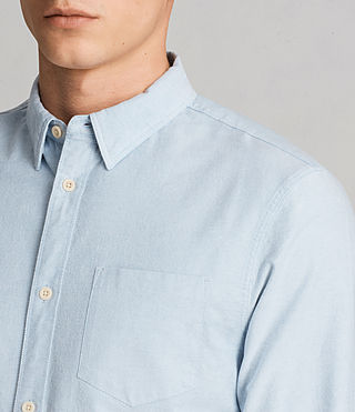 Mens Stukeley Shirt (Light Blue) - product_image_alt_text_2