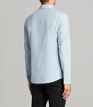 Mens Stukeley Shirt (Light Blue) - product_image_alt_text_4