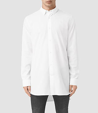 Uomo Camicia Hollins (Optic White)