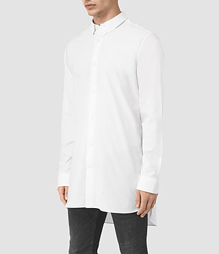 Men's Hollins Shirt (Optic White) - product_image_alt_text_2