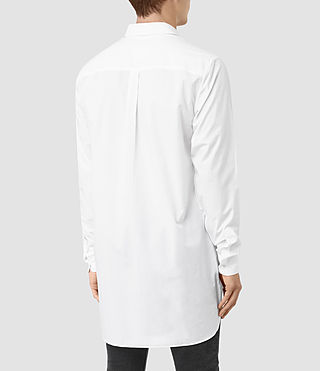 Men's Hollins Shirt (Optic White) - product_image_alt_text_3