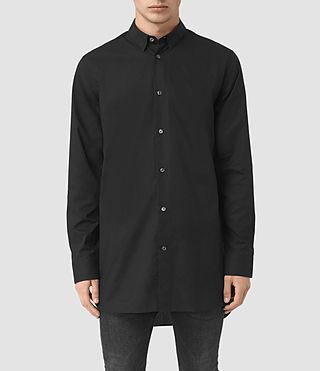 Mens Hollins Shirt (Black)