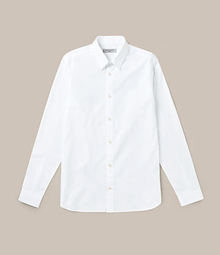 Mens Villiers Shirt (White) - product_image_alt_text_1