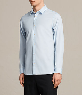 Men's Villiers Shirt (Light Blue) - product_image_alt_text_2