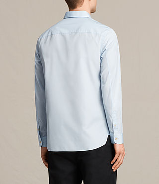 Men's Villiers Shirt (Light Blue) - product_image_alt_text_3