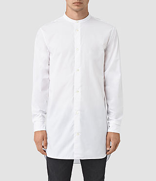 Hombre Ashton Ls Shirt (Optic White)