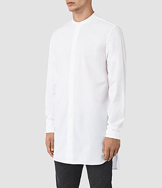 Mens Ashton Shirt (Optic White) - product_image_alt_text_2