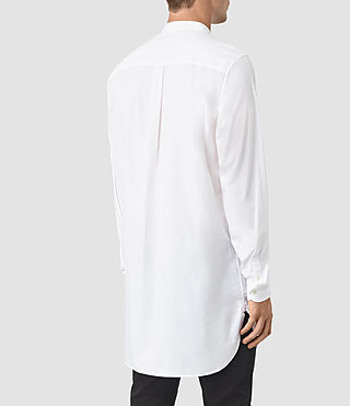 Mens Ashton Shirt (Optic White) - product_image_alt_text_3