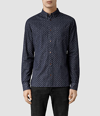 Mens Danko Shirt (Navy)