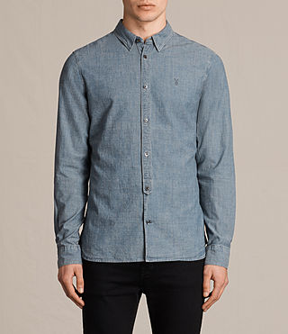 Uomo Elmwood Shirt (Blue)