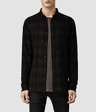 Mens Drytown Shirt (Black)