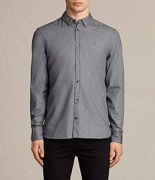 Hommes Caligula Ls Shirt (Grey)