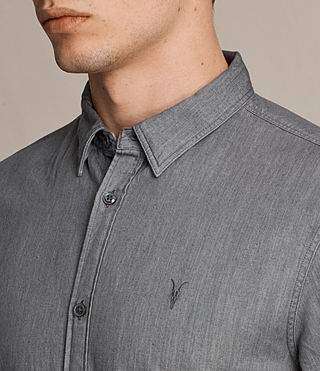 Herren Caligula Shirt (Grey) - product_image_alt_text_2
