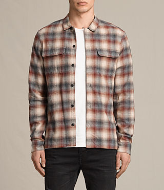 Uomo Tehama Ls Shirt (OXBLOOD RED)