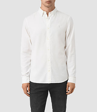 Hommes Shire Ls Shirt (Off White)