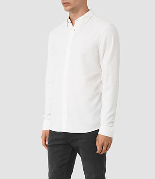 Men's Shire Shirt (Off White) - product_image_alt_text_2