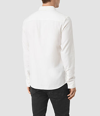 Men's Shire Shirt (Off White) - product_image_alt_text_3