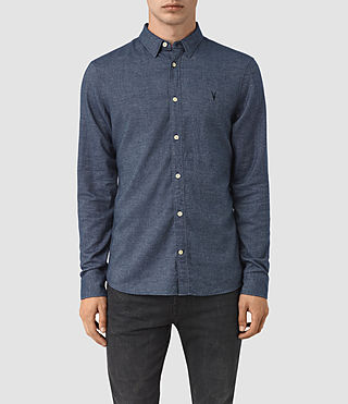 Men's Shire Shirt (Indigo Blue)