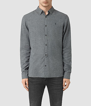 Hommes Blackshear Ls Shirt (Workers Blue)