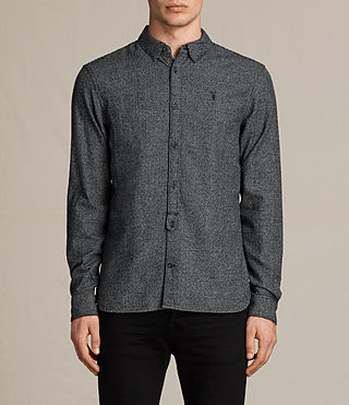 Herren Blackshear Shirt (Black Check)