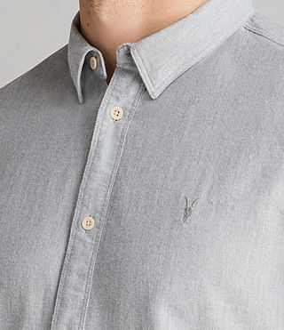 Men's Millard Shirt (Light Grey) - product_image_alt_text_2