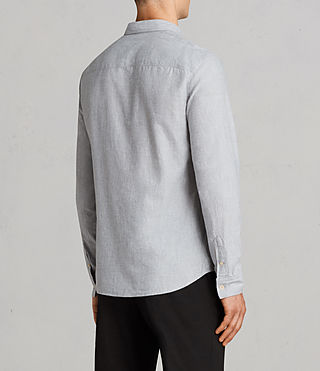 Men's Millard Shirt (Light Grey) - Image 4