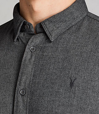 Hommes Millard Shirt (Grey) - product_image_alt_text_2