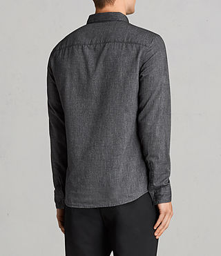 Men's Millard Shirt (Grey) - Image 4