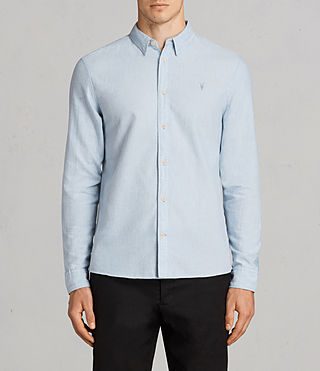 Uomo Camicia Millard (Light Blue) -